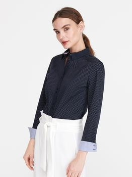 Блуза RESERVED Темно синий