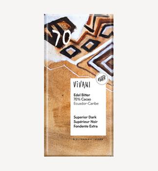 Ciocolată amară Ecuador 70% bio Vivani 100g