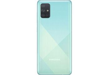 cumpără Samsung Galaxy A71 A715F/DS 6/128Gb, Blue în Chișinău