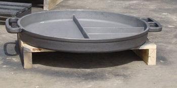 Сковорода чугунная (диаметр 800 мм)