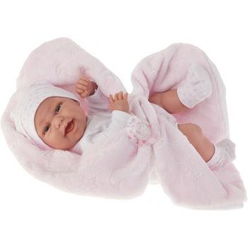 Кукла младенец Клара с одеяльцем, 42 см Код 6026