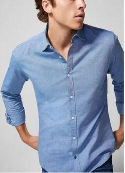 Рубашка SPRINGFIELD Синий