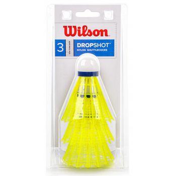 cumpără Fluturas badminton (set 3 buc.) WILSON DROPSHOT 3 CLAMSHEL YE WRT6048YE(2163) în Chișinău