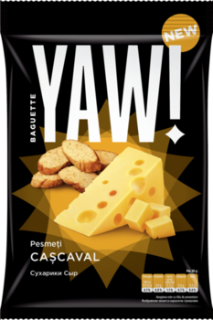 купить Сухарики со вкусом сыра Yam Baguette, 60г в Кишинёве