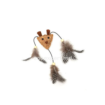 Nobleza Cat Toy кошачья мята+перо L 20