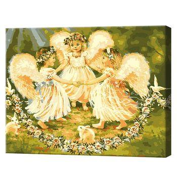 Картина по номерам 40x50см С днем ангела