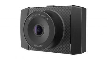 """Xiaomi YI Ultra Dash Camera EU, 2.7K vehicle recorder, Wide viewing angle: FOV(D): 140.6°, f/1.9, WiFi, Voice control, 2.7"""" LCD screen 960x240, 2.7К@30fps / FHD@60fps, Processor YI A17 + A7, MicroSD up to 128GB, 400mAh Li-ion Battery"""