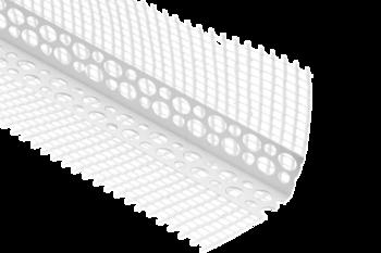 Профиль угловой ПВХ с сеткой 3000 мм