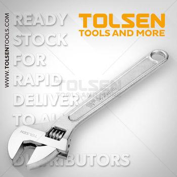 купить Ключ разводной  без изол 250 mm (0-30 mm)Tolsen в Кишинёве