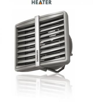 купить Водяные воздухонагреватели R3 50-70  кВт в Кишинёве