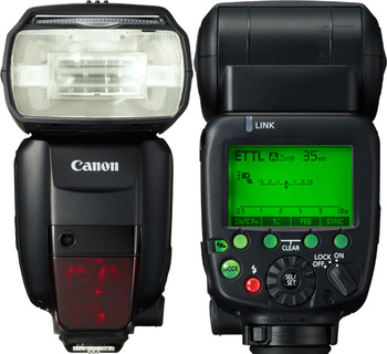 CANON Speedlite 600 EX RT, черный