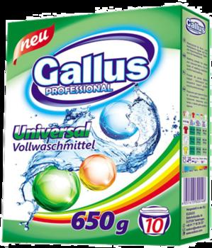 Стиральный Порошок Gallus 650 (color /universal /white)