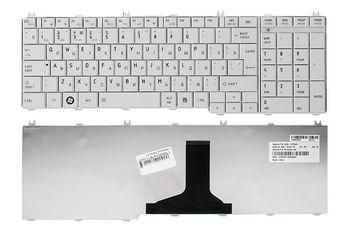 Keyboard Toshiba Satellite C650 C660 C670 C675 C750 C755 C770 C775 L650 L660 L670 L675 L750 L755 L770 L775 ENG/RU White