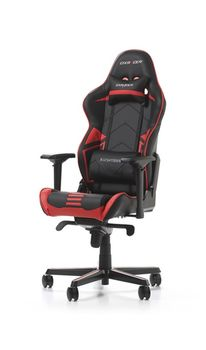Gaming Chairs DXRacer - Racing PRO GC-R131-NR-V2, Black/Black/Red - Carbon Look Vinyl & PU,Gamer weight up to 115kg / growth 165-195cm,Foam Density 50kg/m3,5-star Alum IC Base,Gas Lift 4 Class,Recline 90*-135*,Armrests: 4D,Pillow-2,Caster-3*PU,W-26kg