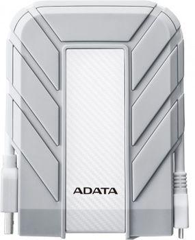 """купить 2.0TB (USB3.1) 2.5"""" ADATA HD710A Water/Dustproof External Hard Drive f/Mac, White (AHD710A-2TU3-CWH) в Кишинёве"""