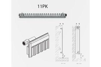 Радиатор стальной DemirDokum T.11 500 x 1200 мм