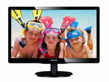 "19.5"" Philips ""200V4LAB2"", G.Black"