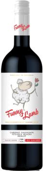 """Vinuri de Comrat Funny Lamb """"Cabernet Sauvignon Feteasca Neagră Merlot""""  demidulce roșu,  0.75 L"""