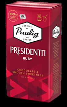 Кофе Paulig Presidentti Ruby 250г молотый