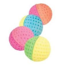 cumpără Мяч зефирный для гольфа двухцветный, d4,5 см în Chișinău