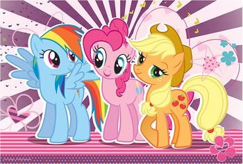 "16228 Trefl Puzzle - ""100"" - Friends / Hasbro My Little Pony"