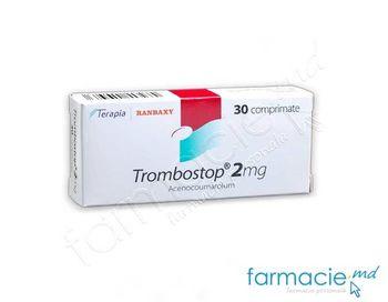 cumpără Trombostop comp. 2mg N30 în Chișinău