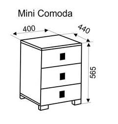 Мини Комод  0,4м