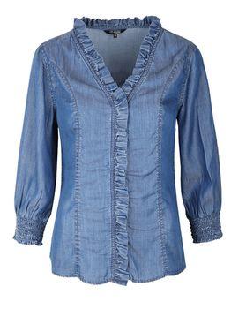 Блуза TOP SECRET Синий