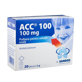 cumpără ACC 100 pulb. sol. orala N10X2 în Chișinău