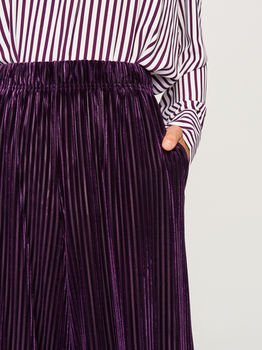 Брюки RESERVED Фиолетовый ub990-99x