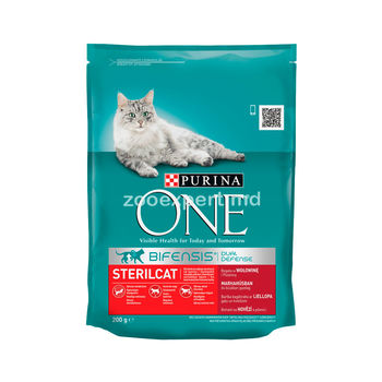 купить Purina One Steril Cat Salmon 200gr в Кишинёве