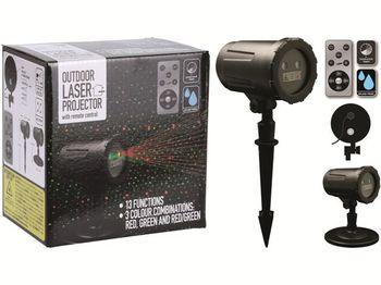 "Проектор изображения Laser LED ""Точки"" зел-красн, контроллер"