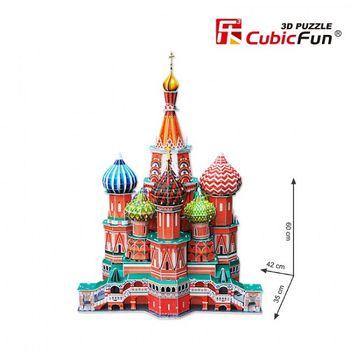 купить CubicFun 3D Basil's Cathedral в Кишинёве