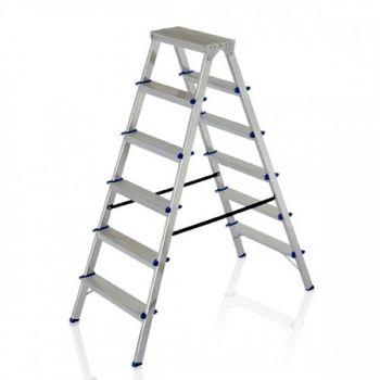купить Лестница двухсторонняя алюминиевая DHR 405, 1.081M в Кишинёве