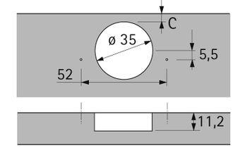 Balama aplicată Slide-on