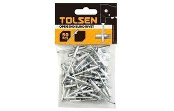 купить Заклепки вытяжные алюминиевые 4.8 х 12,7мм (50шт) TOLSEN в Кишинёве