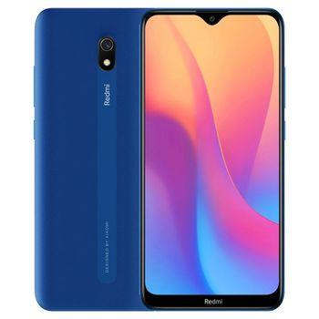 "Xiaomi RedMi 8A EU 32GB Blue, 6.20"" 720x1520 IPS, Snapdragon 439, Octa-Core 2.0GHz, Adreno 505, 2GB RAM, microSD (dedicated slot), 12MP/8MP, LED flash, 5000mAh, WiFi-N/BT4.2, LTE, Infrared Port, Android 9 (MIUI 11)"