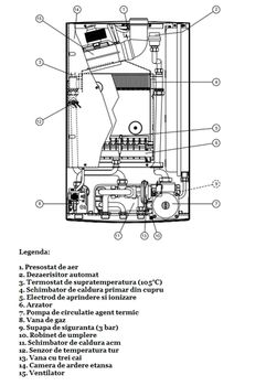 купить Конденсационные настенные котлы Arca Pixel 25 FC, в Кишинёве