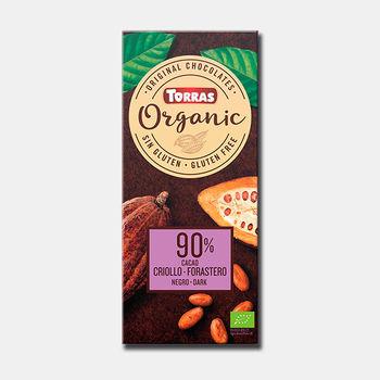 Шоколад горький  90% Criollo Torras, Bio 100г