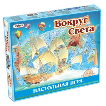 купить Strateg Настольная игра Вокруг света в Кишинёве