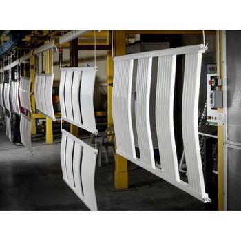 Полотенцесушитель 500*800 Белый Изогнутый Eco-Rail
