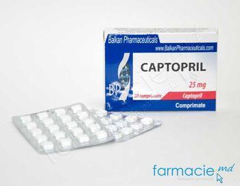 купить Captopril comp.25 mg N20x3 (Balkan) в Кишинёве