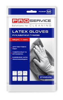 Перчатки латексные PROservice, M, 1 шт