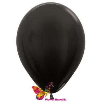 купить Воздушные шары , Черный  перламутр - 30 см в Кишинёве