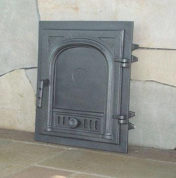купить Дверца чугунная глухая правая DW2 в Кишинёве