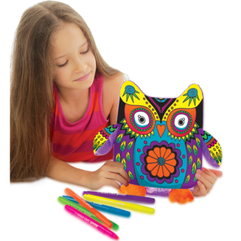 Подушка сова для росписи Colorino