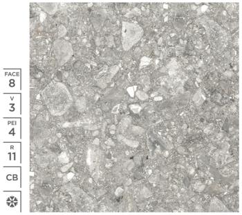 Керамогранитная плитка DONAU GREY CB 20MM 60X60 CM