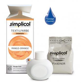 купить SIMPLICOL Intensiv - Mango-Orange, Краска для окрашивания одежды в стиральной машине, Mango-Orange в Кишинёве