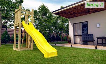 купить Деревянная детская площадка FUNNY 3 в Кишинёве