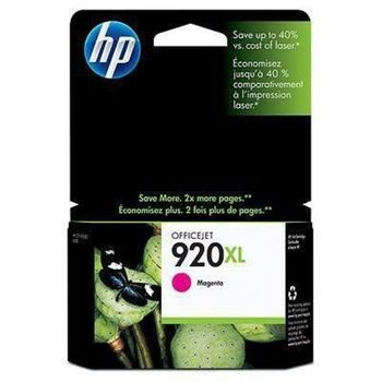 HP No.920XL OfficeJet Ink Cartridge, Magenta 700 pages for HP Officejet 6000 Printer